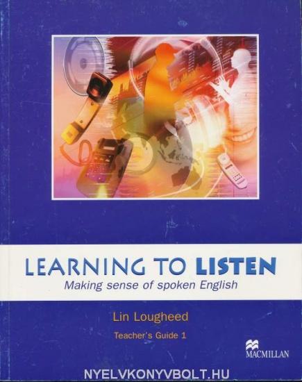 Learning to Listen Level 1 Teacher´s Book