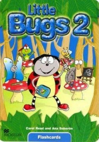 Little Bugs 2 Flashcards : 9781405061629