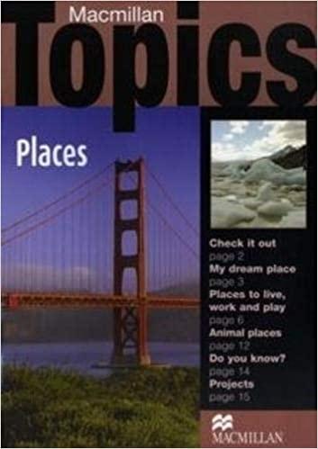 Macmillan Topics Beginner - Places