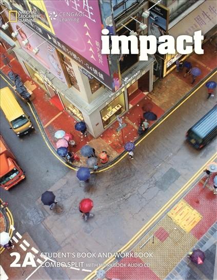 Impact 2 Student Book + Workbook Combo Split A