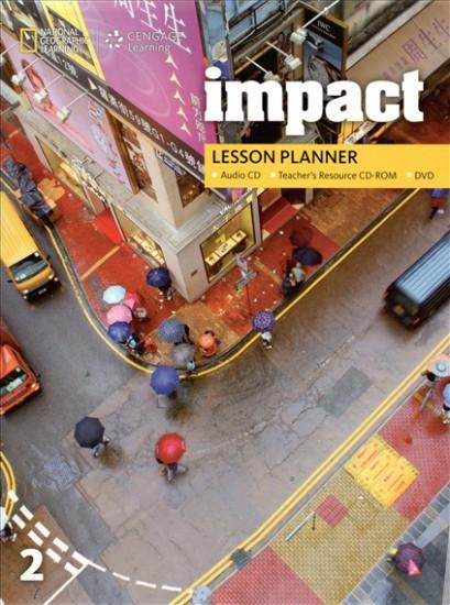 Impact 2 Lesson Planner + Audio CD + TRCD + DVD
