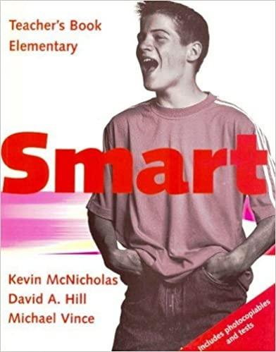 Smart Elementary Level Teacher´s Book