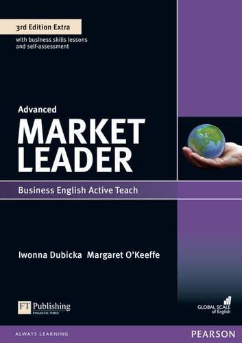 Market Leader 3rd Edition Advanced Extra ActiveTeach (Interactive Whiteboard Software) CD-ROM