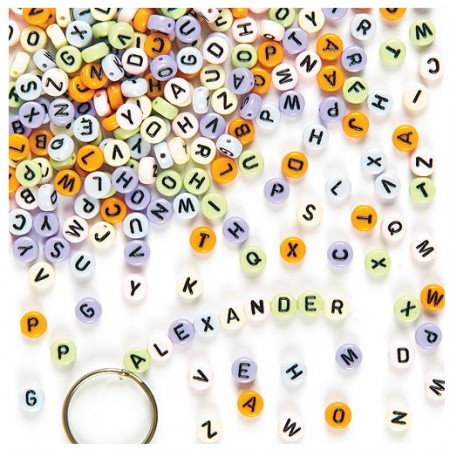 Korálky s abecedou (400 kusů) - ET151