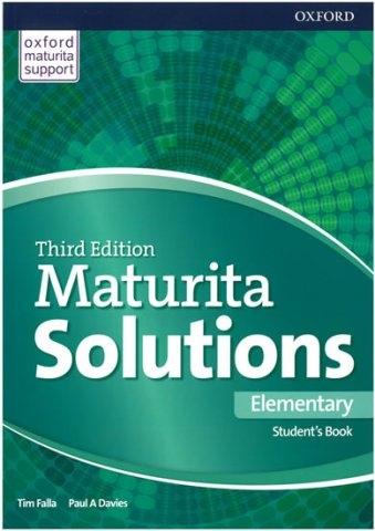 Maturita Solutions 3rd Edition Elementary Student´s Book Czech Edition : 9780194561846