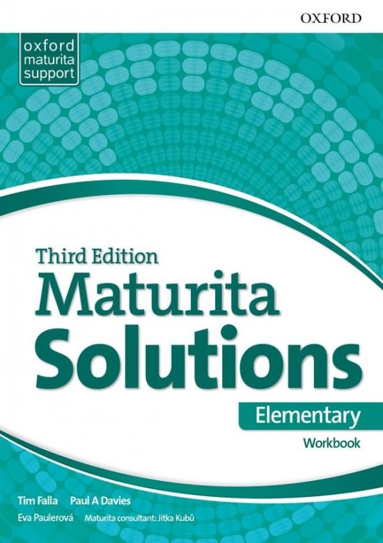 Maturita Solutions 3rd Edition Elementary Workbook Czech Edition