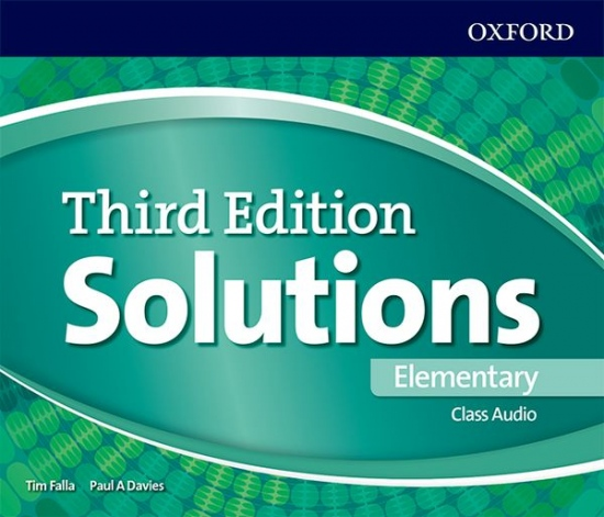 Solutions 3rd Edition Elementary Class Audio CDs (3)