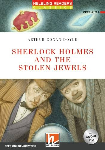 HELBLING READERS Red Series Level 2 Sherlock Holmes and the Stolen Jewels + Audio CD