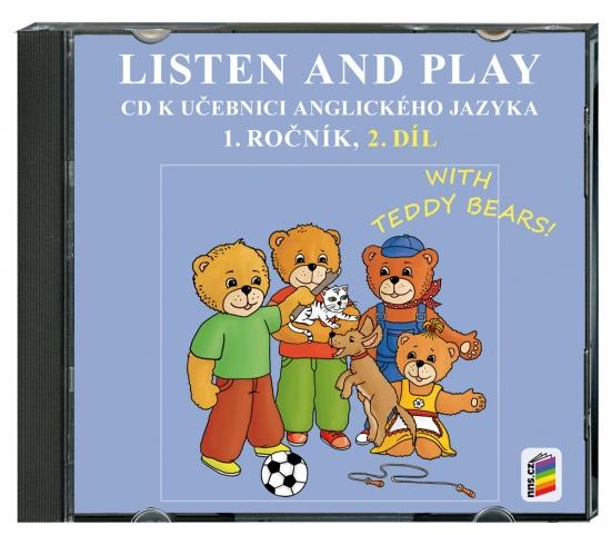 CD Listen and play - WITH TEDDY BEARS!, 2. díl (1-82-2)