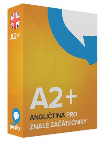 Angličtina pro ZNALÉ ZAČÁTEČNÍKY A2+ online