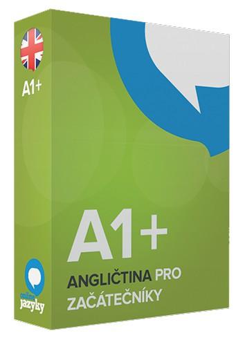 Angličtina pro ZAČÁTEČNÍKY A1+ online