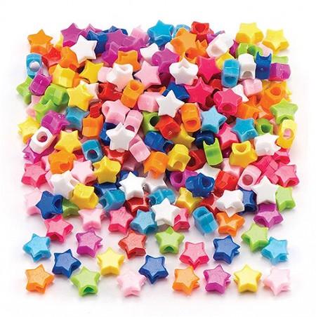 Korálky hvězdičky 400 ks (AR290)