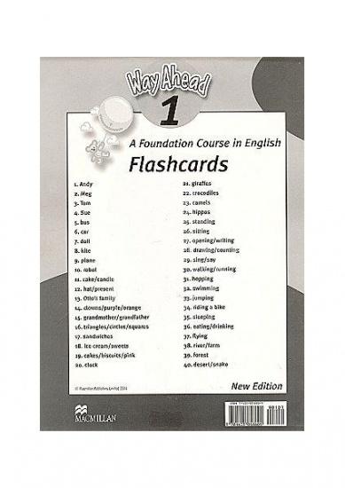 Way Ahead (New Ed.) 1 Flashcards