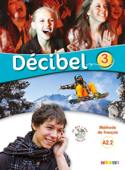 Décibel 3 Niveau A2.2 učebnice + CD MP3 + DVD