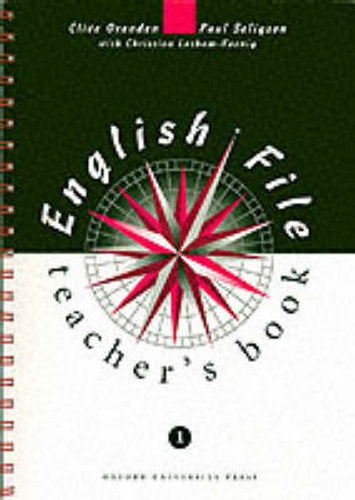 English File 1 TEACHER´S BOOK