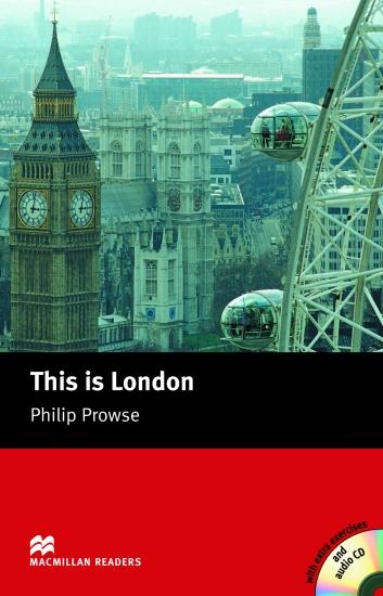 Macmillan Readers Beginner This is London + CD : 9781405087117