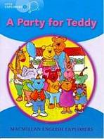 Little Explorers B A Party for Teddy Big Book