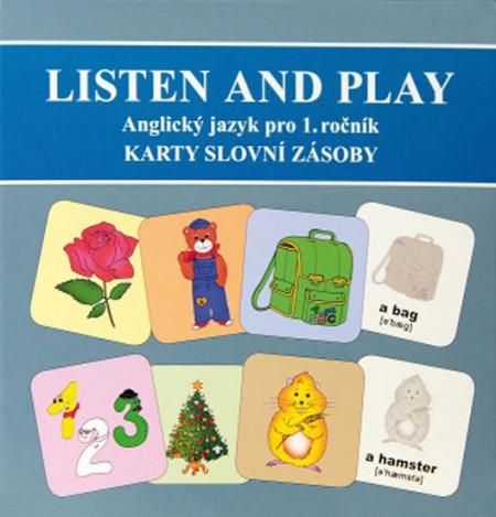 Listen and play - WITH TEDDY BEARS! - Sada karet s obrázky slovní zásoby 1-84