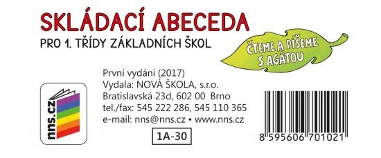 Skládací abeceda (Čteme a píšeme s Agátou) (1A-30)