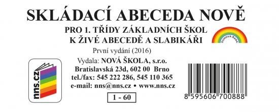 Skládací abeceda NOVĚ (1-60)