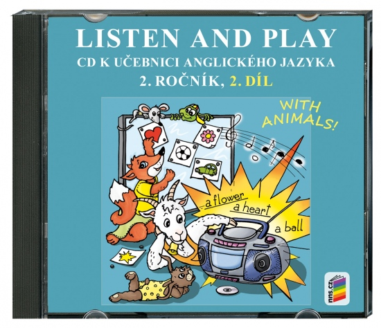 CD Listen and play with animals! 2. díl (2 CD) (2-82-2)