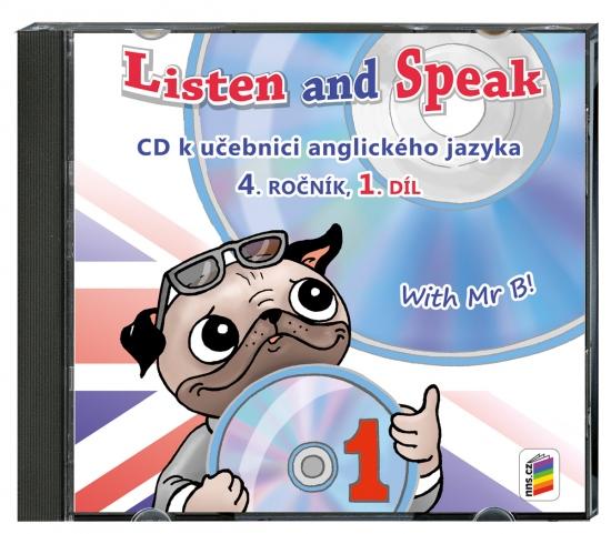 CD Listen and speak with Mr B! 1. díl (4-82-1) : 4-82-1