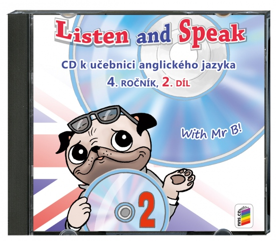 CD Listen and speak with Mr B! 2. díl (2 CD) (4-82-2)