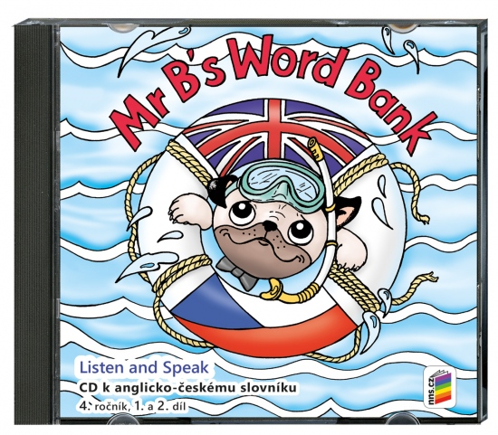 CD Mr B´s Word bank CD ke slovníčku (2 CD) (4-82-3)