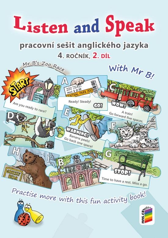 Listen and speak with Mr B! 2. díl pracovní sešit (4-86)