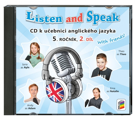 CD Listen and speak with friends! 2. díl (2 CD) (5-82-2)