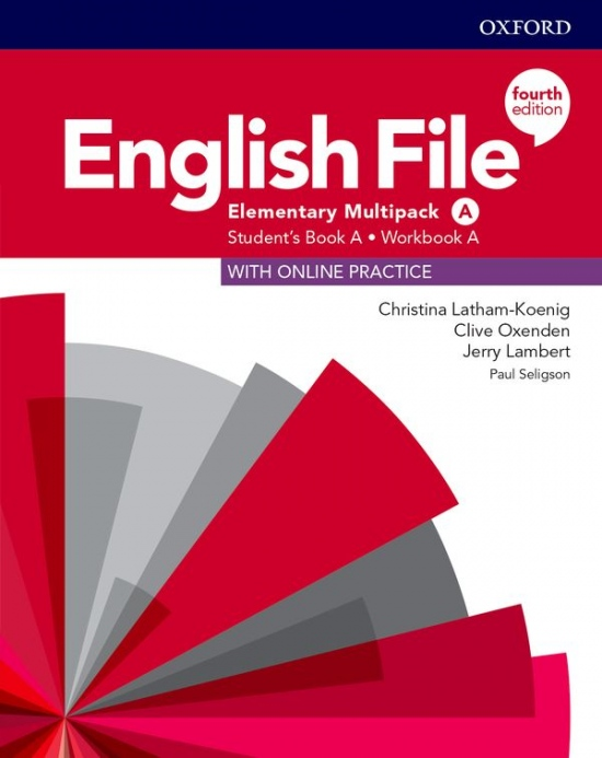 English File Fourth Edition Elementary Multipack A with Student Resource Centre Pack