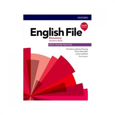 English File Fourth Edition Elementary Student´s Book with Student Resource Centre Pack (Czech Edition) : 9780194031554