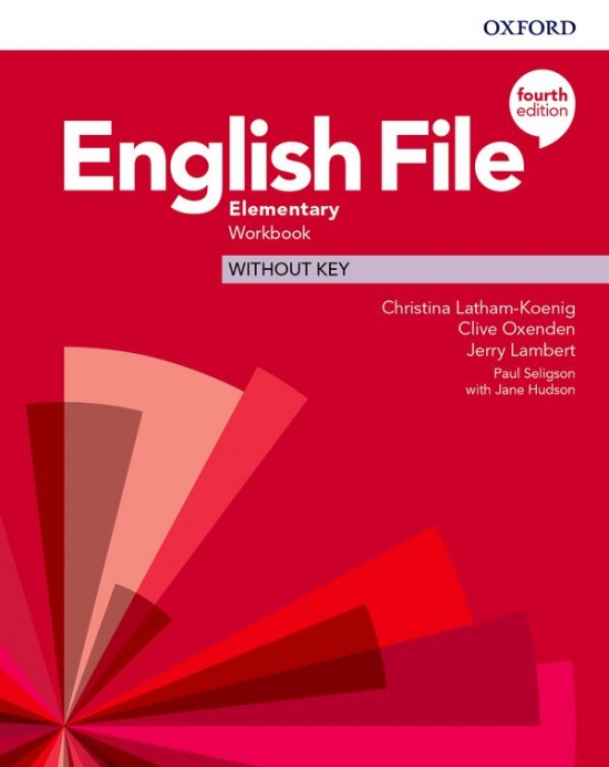 English File Fourth Edition Elementary Workbook without Answer Key
