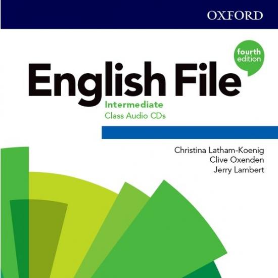English File Fourth Edition Intermediate Class Audio CDs (5)