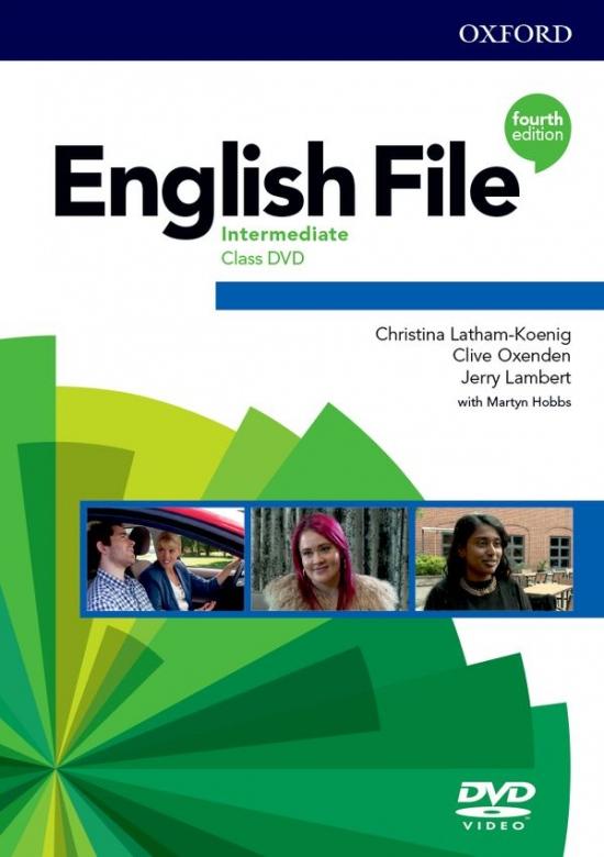 English File Fourth Edition Intermediate Class DVD