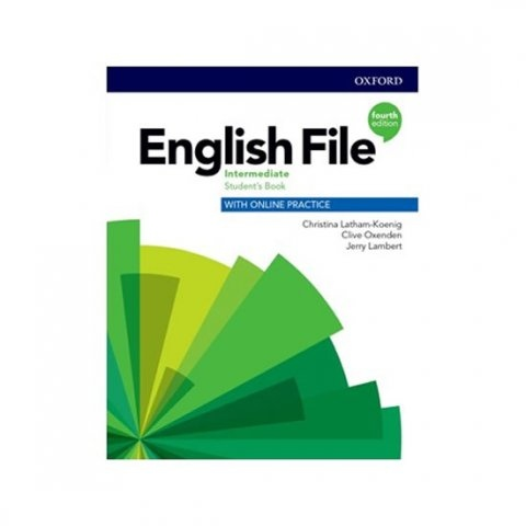 English File Fourth Edition Intermediate Student´s Book with Student Resource Centre Pack (Czech Edition) : 9780194035798