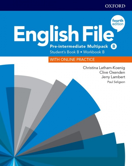 English File Fourth Edition Pre-Intermediate Multipack B with Student Resource Centre Pack