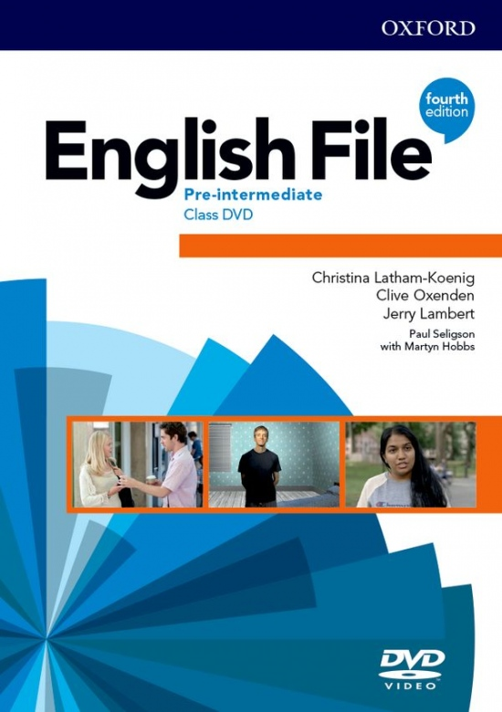 English File Fourth Edition Pre-Intermediate Plus Class DVD