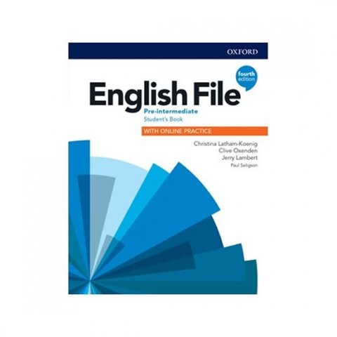 English File Fourth Edition Pre-Intermediate Student´s Book with Student Resource Centre Pack (Czech Edition)