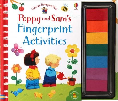 Poppy and Sam´s fingerprint activities