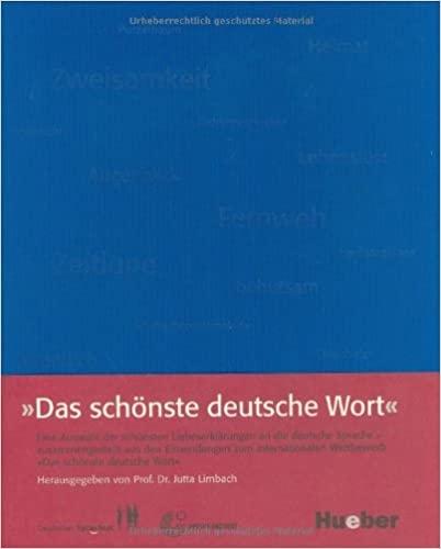 Das schönste deutsche Wort : 9783190078912