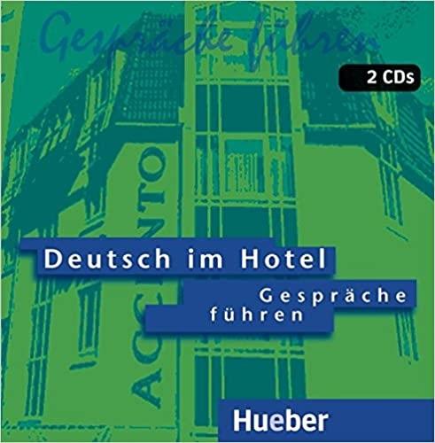 Deutsch im Hotel 2 CDs Hörtexte