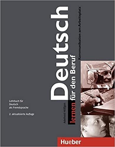 Deutsch lernen für den Beruf Lehrbuch, 2. vydání