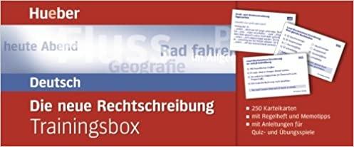 Die neue deutsche Rechschreibung Trainingsbox