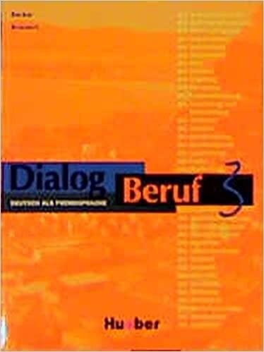 Dialog Beruf 3 Kursbuch