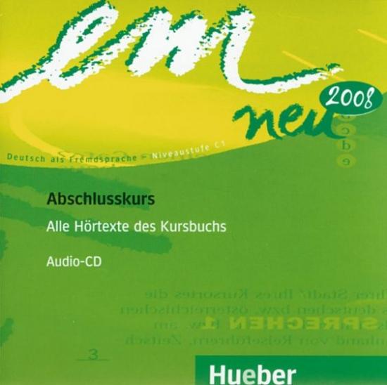 em neu 2008 Abschlusskurs Audio-CDs : 9783195316972