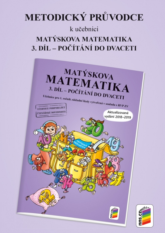 Metodický průvodce k Matýskově matematice 3. díl - aktualizované vydání 2018 (1A-40)