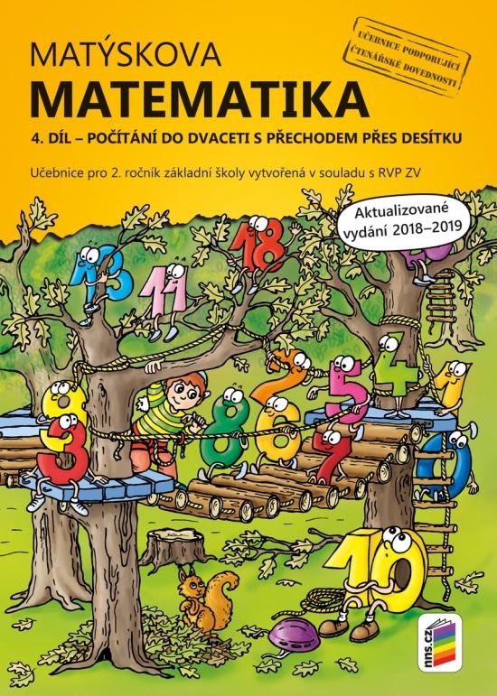 Matýskova matematika, 4. díl – počítání do 20 s přechodem přes 10 - aktualizované vydání 2019 (2A-35)
