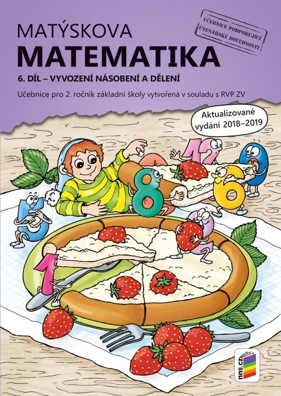 Matýskova matematika, 6. díl – počítání do 100 (vyvození násobení a dělení) - aktualizované vydání 2019 (2A-37)