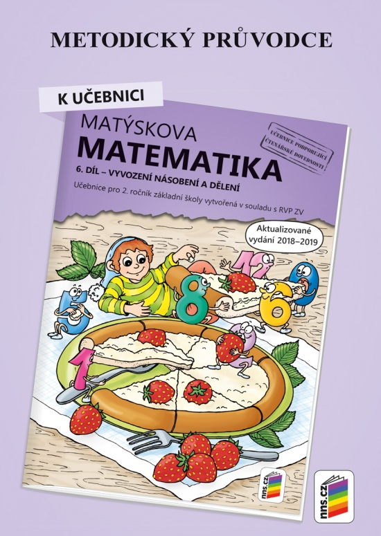 Metodický průvodce k Matýskově matematice 6. díl - aktualizované vydání 2019 (2A-40)